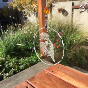 Six crystal suncatchers - get one free!