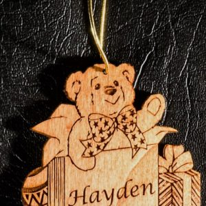Christmas Teddy decoration